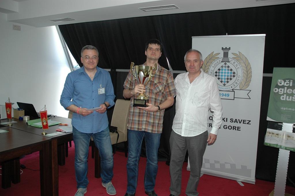 Pobjednik turnir Yuri Vovk