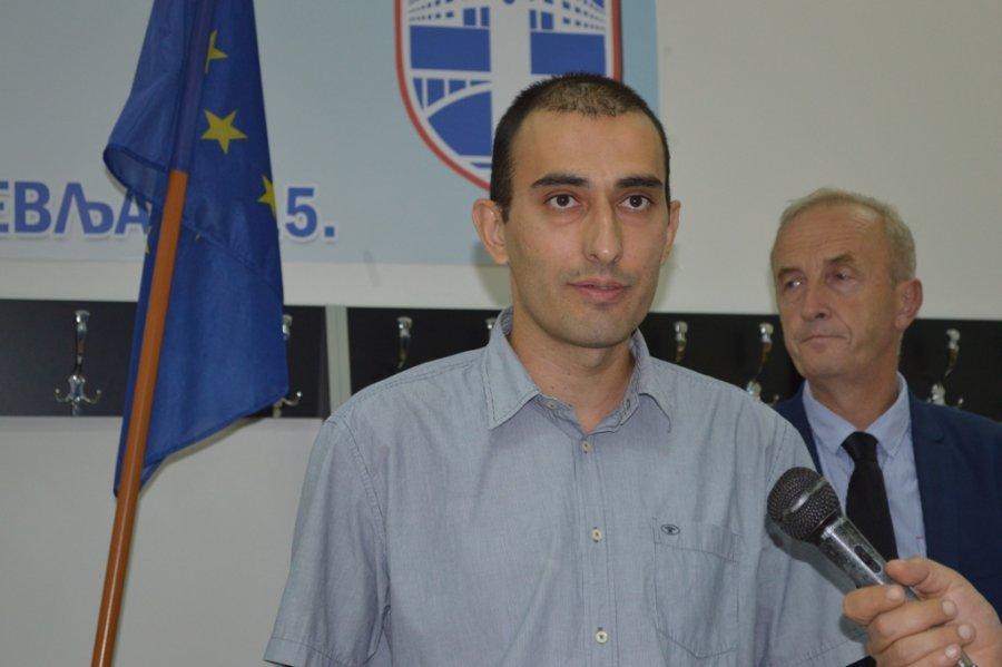 Glavni sudija turnira Igor Vujacic