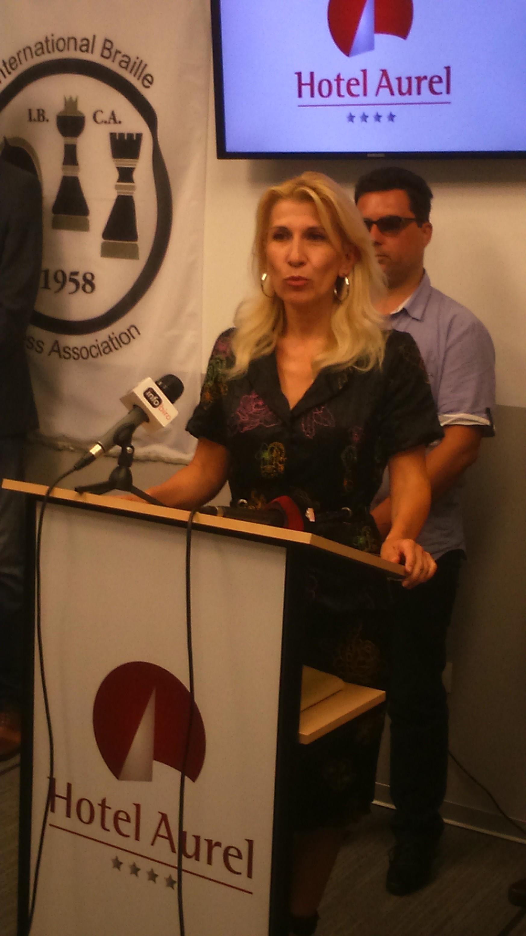 U ime glavnog grada ucesnike je pozdraviola Nela Savković Vukčević