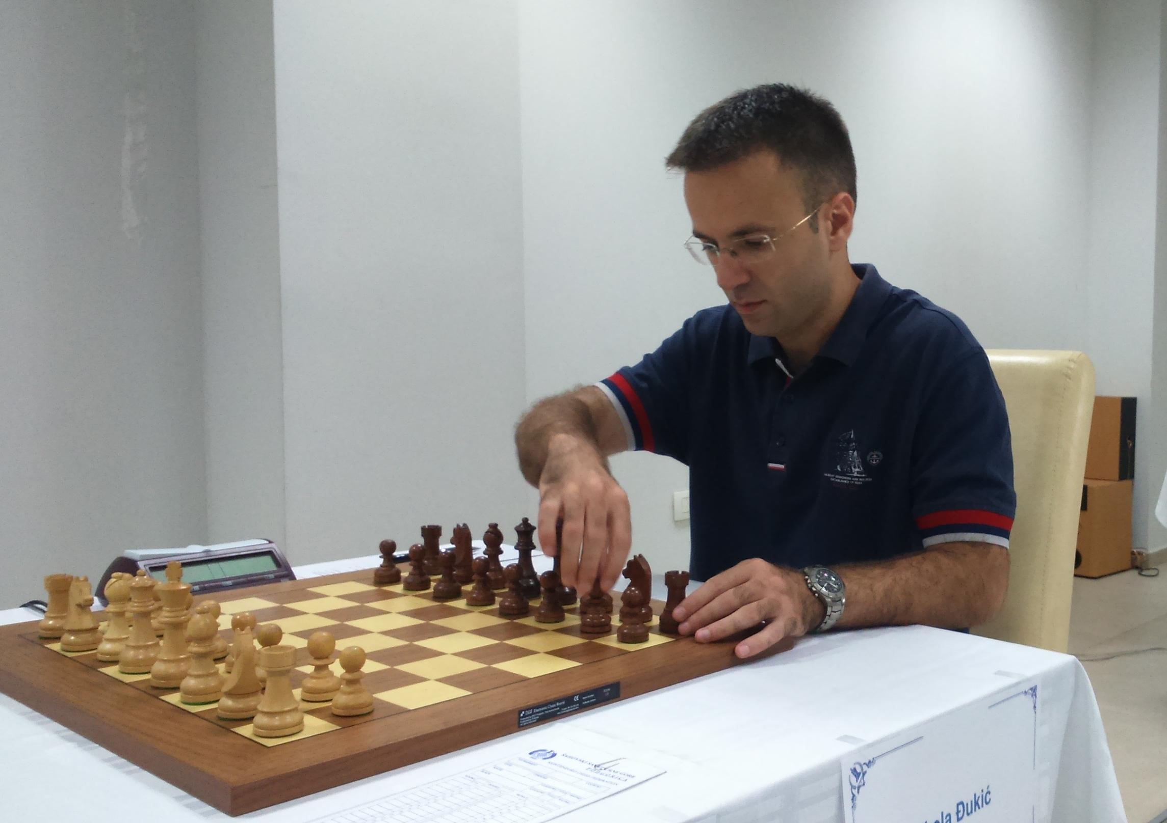 Naš najbolji šahista Nikola Đukić